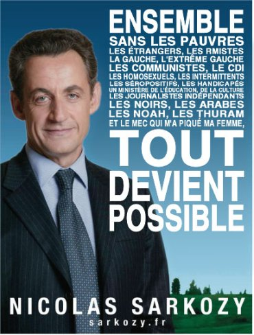 Sarkozy - Ensemble tout est possible