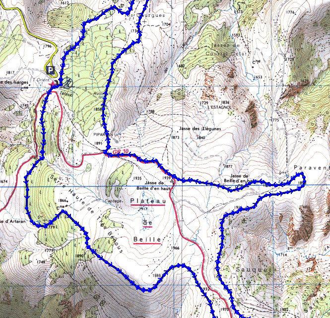 Trail Blanch 2010 : 13 km