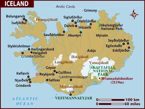 Direction l'Islande
