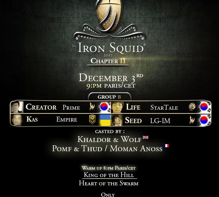 Iron Squid 2 : Groupe B