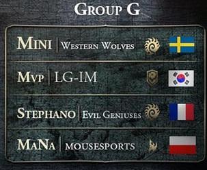 Iron Squid 2 : Groupe G