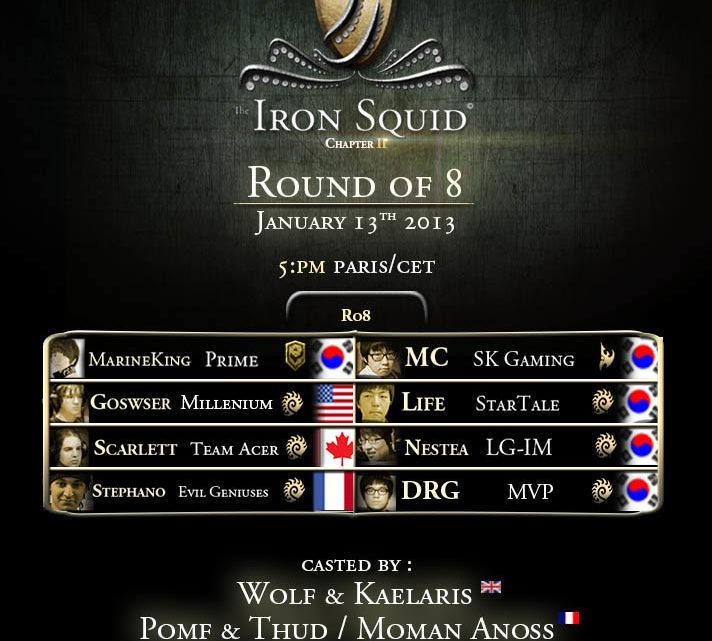 Iron Squid 2 : Quarts de Finale