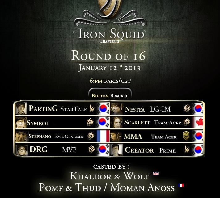 Iron Squid 2 : Huitièmes de Finale (2ème jour)