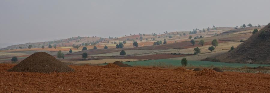 De Kalaw à Pindaya – 24 au 26 février 2013