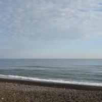 Petite plage classique.
