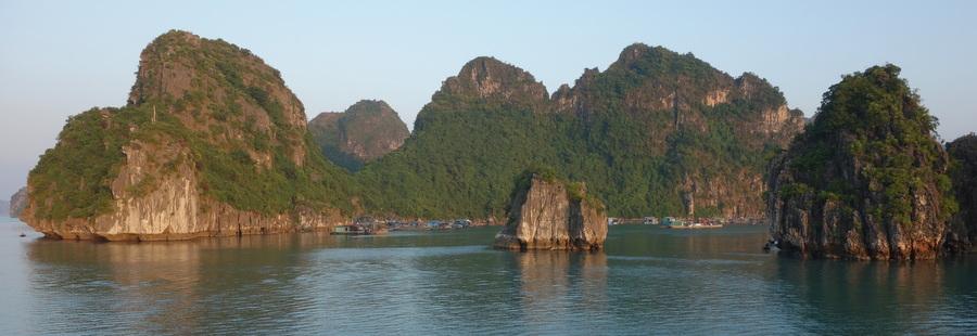 Baie d'Halong – 31 octobre au 2 novembre 2013