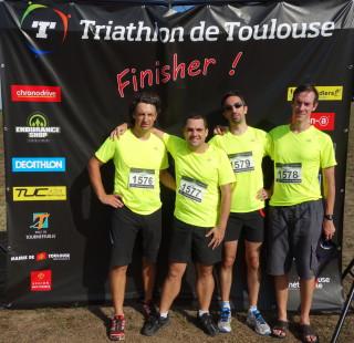 Finisher Triathlon Toulouse 2014