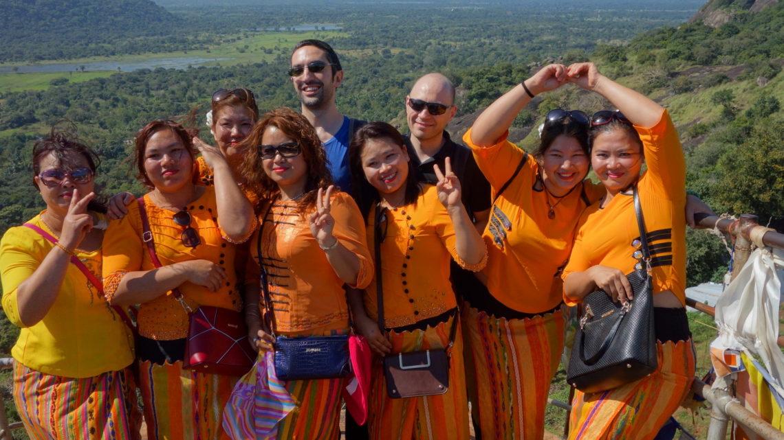 De Anuradhapura à Sigiriya – 23 février 2016