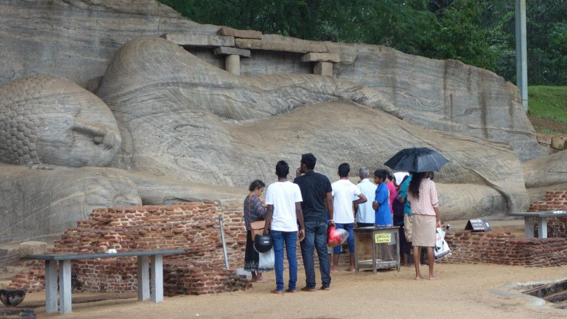 De Polonnaruwa à Sigiriya – 25 février 2016