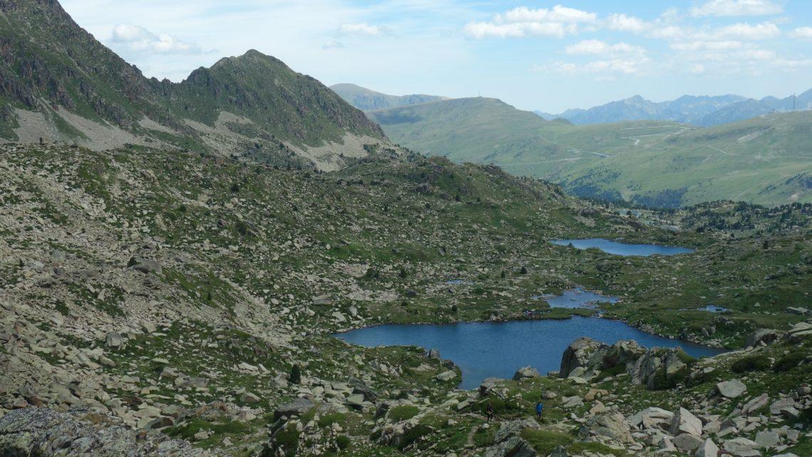 Randonnée au cirque de Pessons et spectacle Stelar (Andorre)