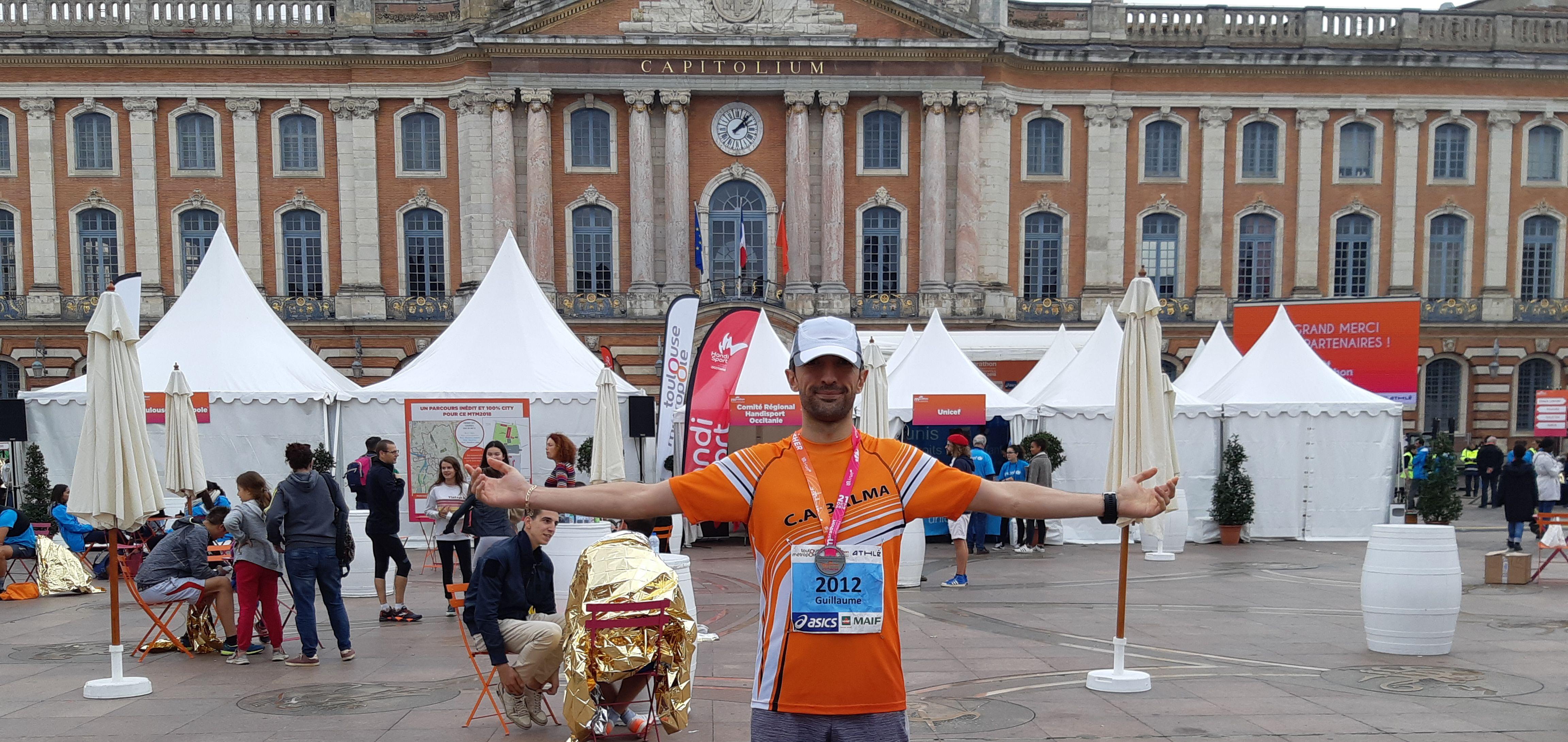 Jamais 2 sans 3 ! Marathon de Toulouse 2018 !
